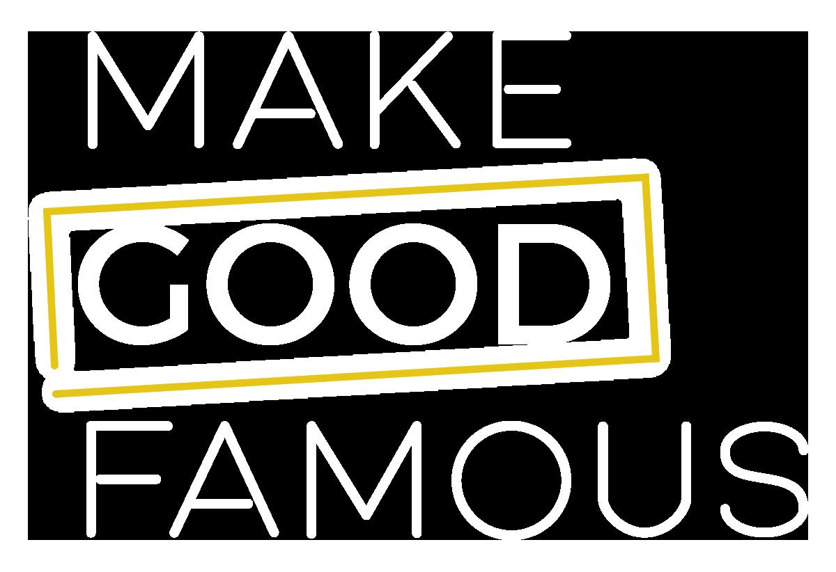 make good famous logo